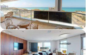 Appartement 150 m2 dans le luxueux Lagoon, Netanya
