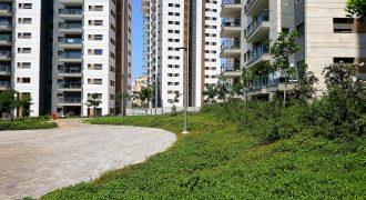 פרויקט יפה של דירות יוקרה למכירה 3-4-5 חדרים ופנטהאוז במרכז נתניה. הכפר בעיר!
