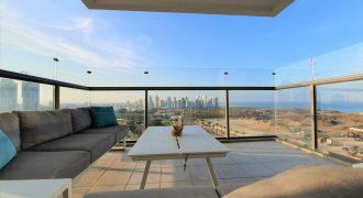 A vendre appartement vue sur la mer  Netanya  Agamim