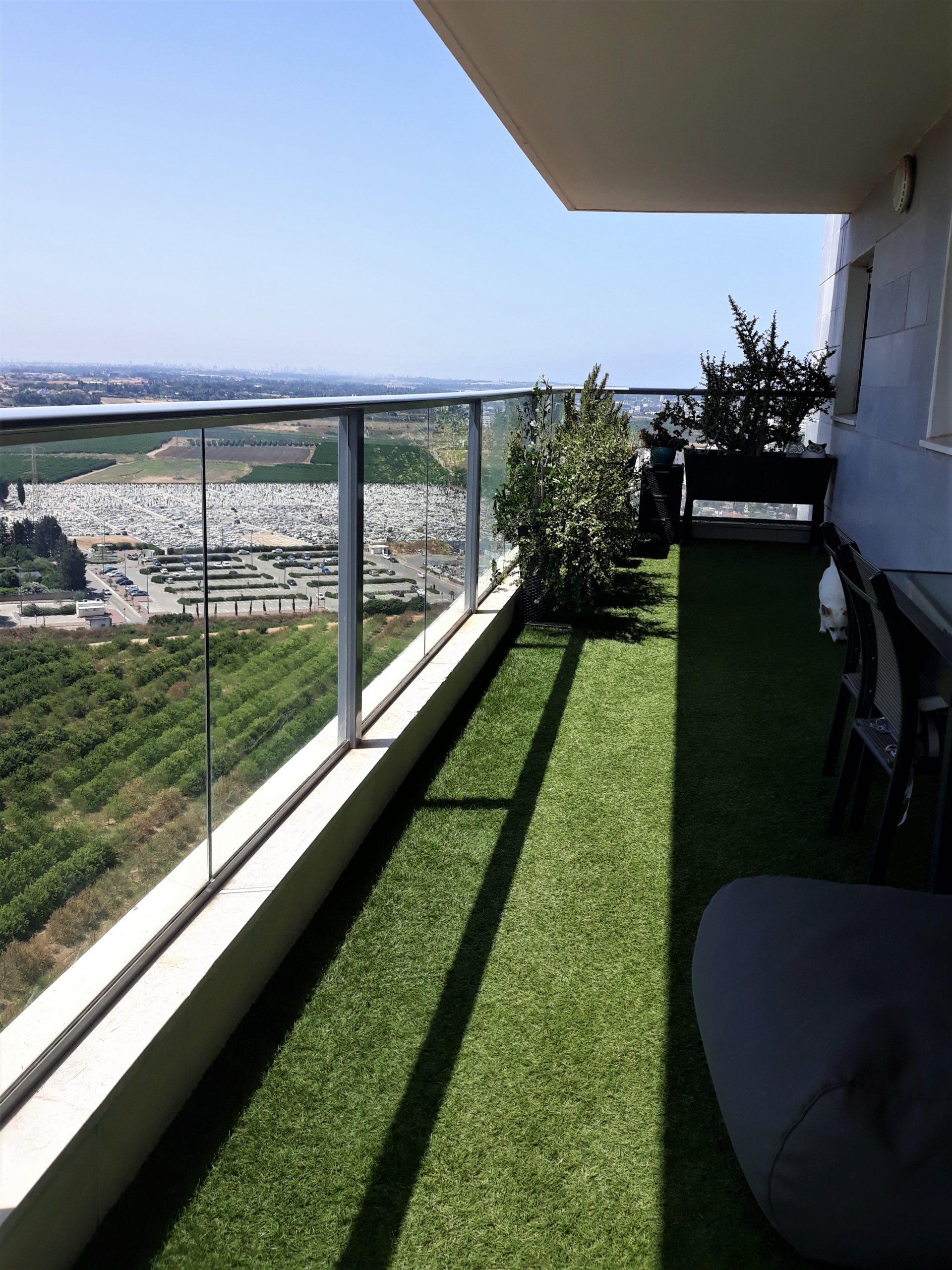 A vendre appartement terrasse 27m2 Natanya